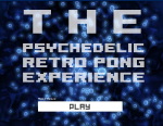 The Psychedelic Retro Pong Experience